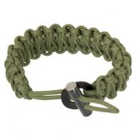 TBS 550 Paracord FIRECORD Survival Bracelet - Ferro Rod Toggle Variant